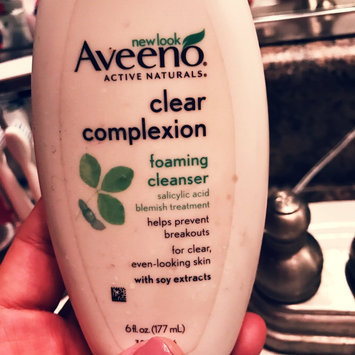 Photo of Aveeno Clear Complexion Foaming Cleanser uploaded by Brandy L.