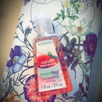 Photo of Bath & Body Works® Pocketbac® Vanilla Berry Sorbet Anti-Bacterial Sanitizing Hand Gel uploaded by Wendy C.