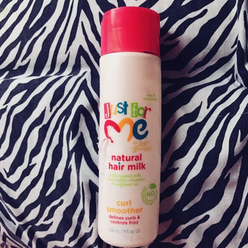 Photo of Just For Me by Soft & Beautiful Natural Hair Milk Curl Smoother, 8 fl oz uploaded by Samantha G.