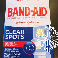 Band-Aid Clear Spots Brand Adhesive Bandages - 50 CT uploaded by Emre Y.
