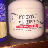 Razac Perfect for Perms Finishing Creme Daily Hairdressing & Scalp Conditioner, 4 oz. uploaded by Karla C.