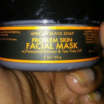 SheaMoisture African Black Soap Problem Skin Facial Mask uploaded by Erika L.