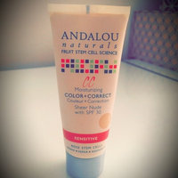 Andalou Naturals 1000 Roses CC Moisturizing Color + Correct SPF 30, Sheer Nude, 2 fl oz uploaded by Patricia M.