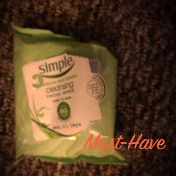 Photo of Simple® Skincare Cleansing Facial Wipes uploaded by Stephanie U.