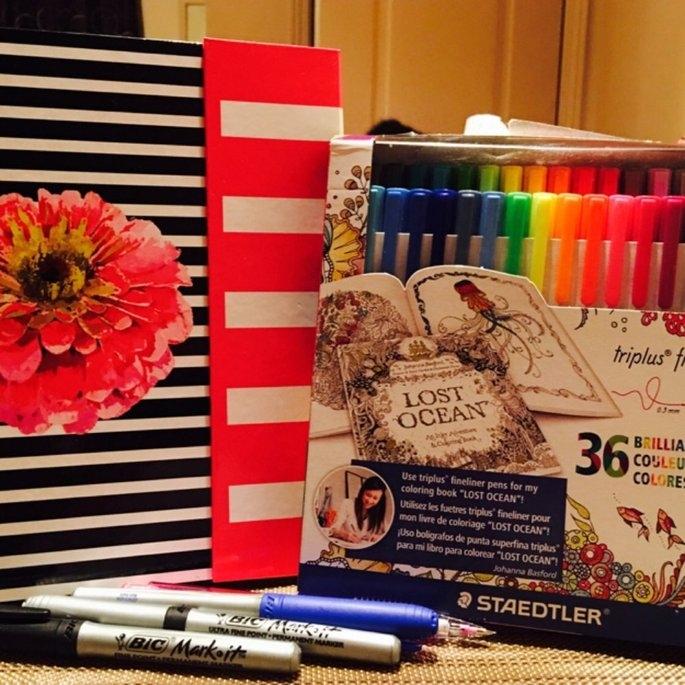 Staedtler Triplus Fineliner Pens, Assorted, Set of 20 uploaded by Fabiola D.