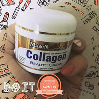 Mason Vitamins Collagen Beauty Cream 100% Pure Collagen Pear Scent, 2-Ounce Jars (Pack of 2) uploaded by Michelle M.