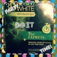 Crest 3D White Whitestrips 1-hour Express Teeth Whitening Kit uploaded by Katie U.