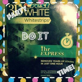 Photo of Crest 3D White Whitestrips 1-hour Express Teeth Whitening Kit uploaded by Katie U.