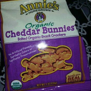 Annie's Homegrown® Organic Cheddar Bunnies® Baked Snack Crackers uploaded by Ashli M.