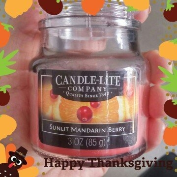 Candle lite 3827271 3 oz Sunset Mandarin Berry Jar Candle Pack of 12 uploaded by Kenia P.