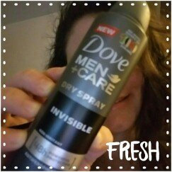 Photo of Dove Men+Care Antiperspirant Dry Spray Invisible uploaded by Niki A.