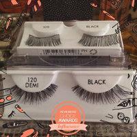 Crème Dramatic False Eyelash Extensions with Rhinestones Black Long Lashes JBCP uploaded by Brenda G.
