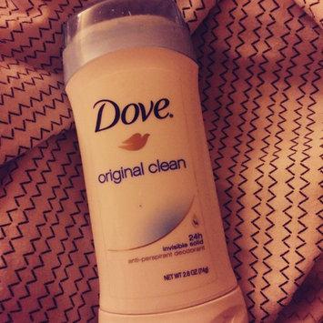 Dove® Original Clean Antiperspirant & Deodorant uploaded by Katie B.