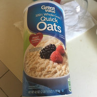 Great Value: Oven-Toasted Quick Oats, 42 Oz uploaded by Perla U.