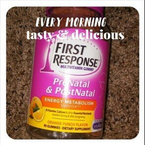 First Response PreNatal & PostNatal Multivitamin Gummy Orange Punch 90 Gummies uploaded by Adriana A.