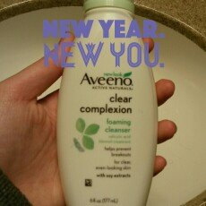 Photo of Aveeno Clear Complexion Foaming Cleanser uploaded by Bailey R.