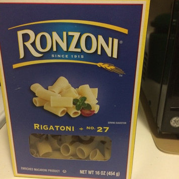 Ronzoni Enriched Macaroni Product Rigatoni uploaded by Destiny D.