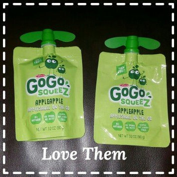 Photo of GoGo SQUEEZ APPLE STRAWBERRY APPLESAUCE ON THE GO uploaded by Jennie F.