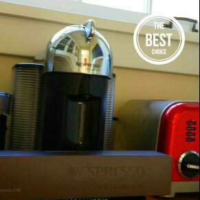 Photo of Nespresso VertuoLine Coffee and Espresso Machine with Milk Frother, uploaded by Gina G.