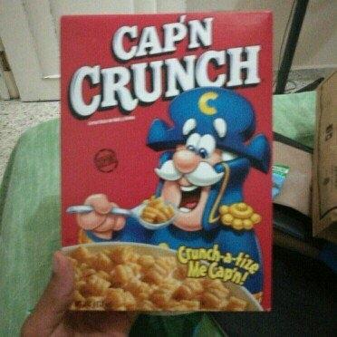Cap'n Crunch Cereal uploaded by Carlos P.