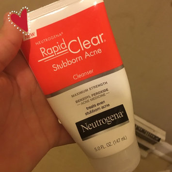Photo of Neutrogena® Rapid Clear Stubborn Acne Cleanser uploaded by Francisca H.
