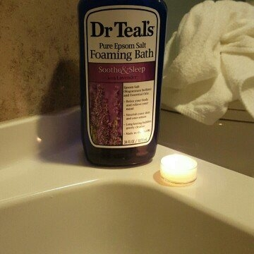 Dr. Teal's Foaming Bath, Soothe & Sleep with Lavender 34 fl oz uploaded by 🍁🍁🍁