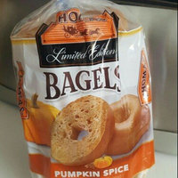 Thomas' Limited Edition Pre-Sliced Bagels Pumpkin Spice - 6 CT uploaded by Gina G.