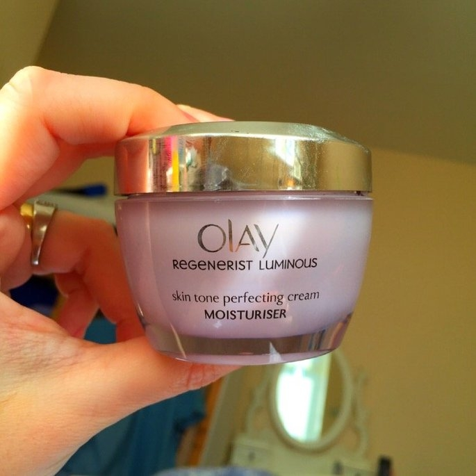 Olay Regenerist Luminous Tone Perfecting Cream uploaded by Eloise A.