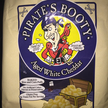 Photo of Pirate's Booty® Aged White Cheddar Rice and Corn Puffs uploaded by Hannah M.