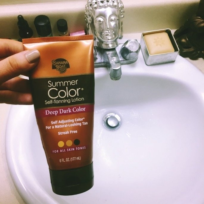 Banana Boat® Summer Color® Deep Dark Color Self-Tanning Lotion 6 fl. oz. Tube uploaded by Natalie D.