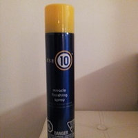 it's a 10 miracle finishing spray uploaded by Betsy E.