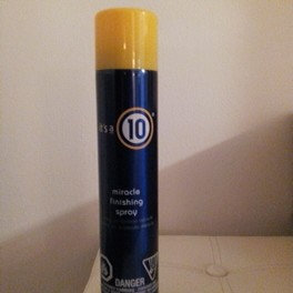 Photo of it's a 10 miracle finishing spray uploaded by Betsy E.