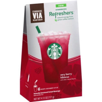 Starbucks VIA Refreshers Very Berry Hibiscus uploaded by Marisa G.