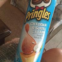 Pringles Cheez Ummms Cheddar & Sour Cream Potato Crisps uploaded by Wendy C.