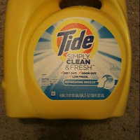 Tide Simply Clean & Fresh HE Liquid Laundry Detergent, Refreshing Breeze Scent, 38 Loads 60 Fl Oz uploaded by Jasmine B.