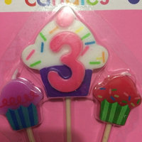 Amscan 170105 Number 3 & Cupcake Candle Picks - Pack of 60 uploaded by Frish Q.