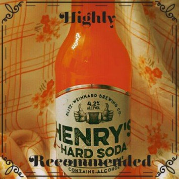Photo of Henry's Hard Soda™ Hard Orange 12 fl. oz. Bottle uploaded by Ashley C.