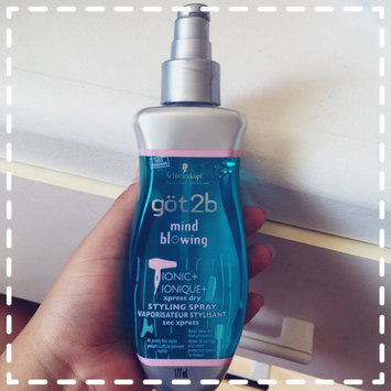 Photo of göt2b® Mind Blowing Xpress Dry Styling Spray uploaded by Nah N.