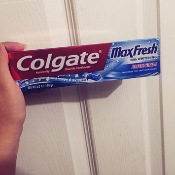 Photo of Colgate® MaxFresh® with WHITENING BREATH STRIPS Liquid Toothpaste Cool Mint uploaded by Brianna B.