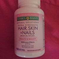 Nature's Bounty Extra Strength Hair Skin & Nails uploaded by Laura H.