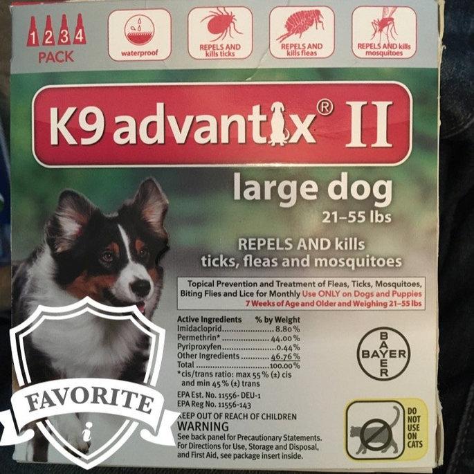 K9 AdvantixA II Flea & Tick Dog Treatment