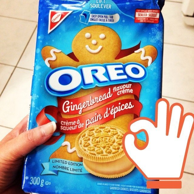 Nabisco Gingerbread Flavor Creme Oreos - Limited Edition - 1 Pack uploaded by Meryem O.