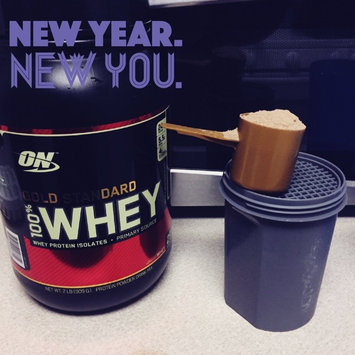 Photo of Optimum Nutrition Gold Standard Natural 100% Whey Protein uploaded by Haley T.