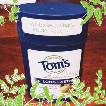 Photo of Tom's of Maine Men's Long Lasting Stick Deodorant uploaded by Emily V.
