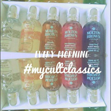 Photo of Molton Brown Signature Scents Mini Body Wash Collection uploaded by Tanisha P.