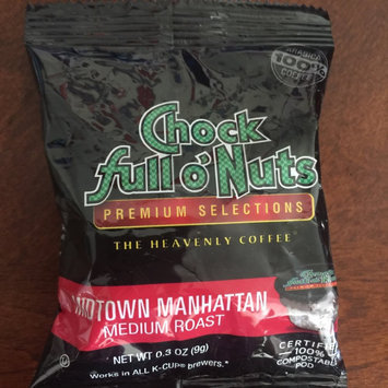Photo of Chock Full o'Nuts Medium Roast Coffee Midtown Manhattan Single Serve Cups uploaded by Paula K.