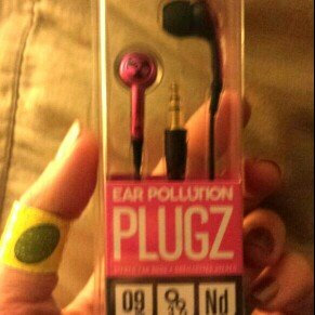 Photo of iFrogz EarPollution Plugz Ear Buds - Hot Pink uploaded by Sarah M.