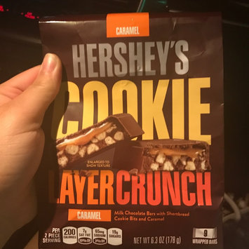 Photo of Hershey's Caramel Cookie Layer Crunch Chocolate Bars 6.3 oz. Bag uploaded by Brandy A.