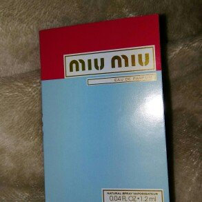Miu Miu Eau de Parfum uploaded by Holly N.