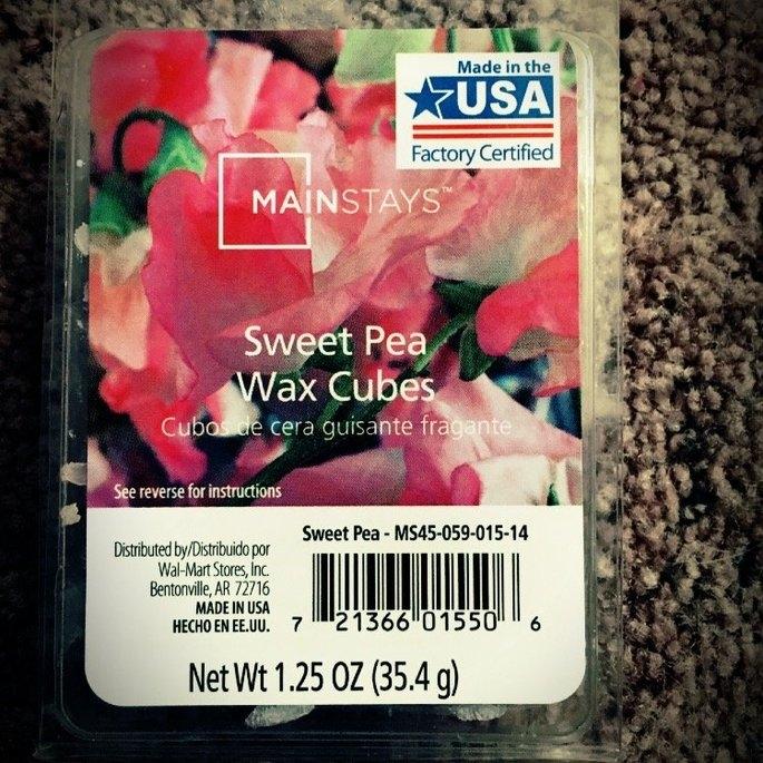 Mainstays Wax Melts, Sweet Pea uploaded by Bobbi H.